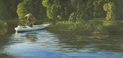 Breaching The Boat, Artwork By Linda At Staiger Studio