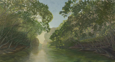 Dream River, Oil Painting  Available At Staiger Studio